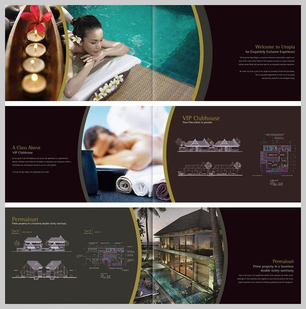 Thiết kế brochure dành cho spa - wwwspadesignvn 언니오빠 - spa brochure