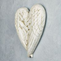 Angel Wings Wall Plaque | Statues-Angels-Wings | Pinterest ...