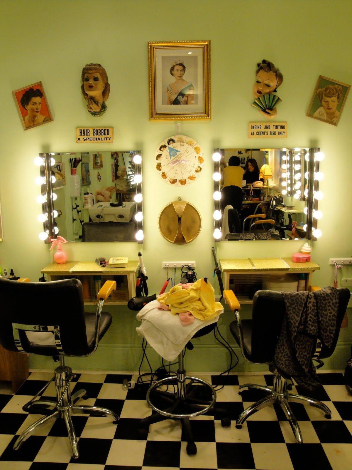 Vintage Salon Decor Ideas - Elitflat