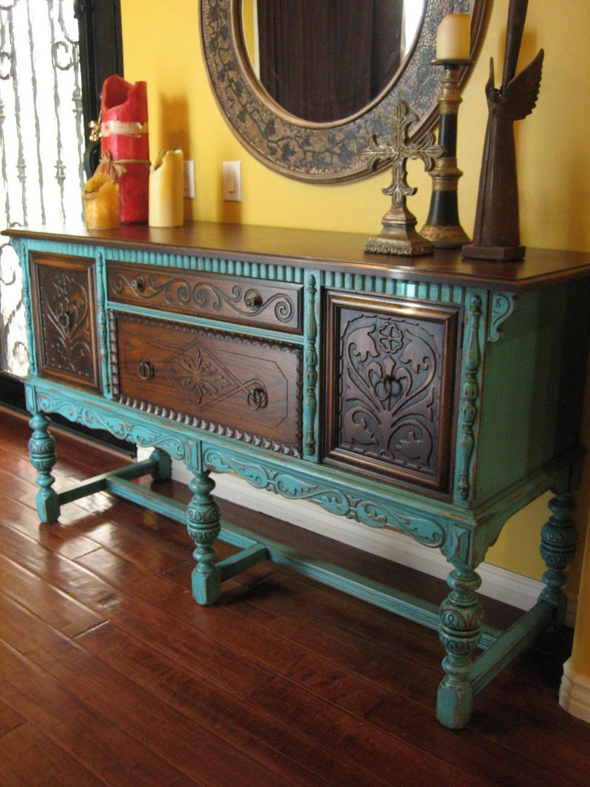 Sideboard Vintage Look Best 25 43 Southwestern Buffets And Sideboards Ideas On