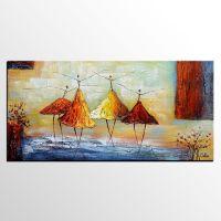 Abstract Art, Ballet Dancer Painting, Wall Art, Modern Art ...