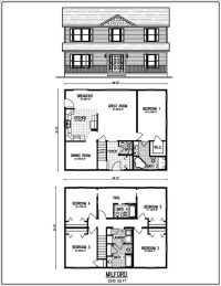 Beautiful 2 Story House Plans With Upper Level Floor Plan ...