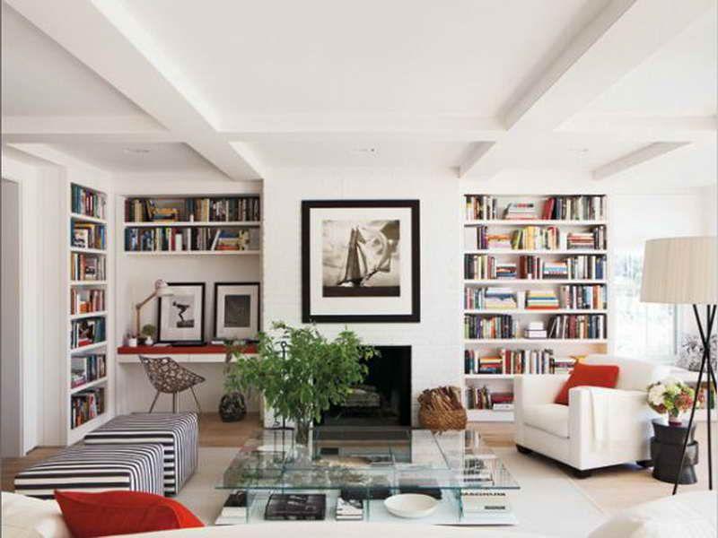 Bookshelves Living Room - Kaisoca.Com