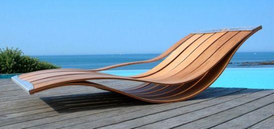 gewölbte formen moderne lounge designer sessel aus holz Lixtex - lounge sessel designs holz ausenbereich