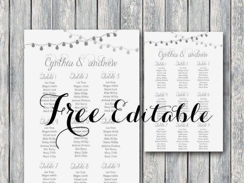 free-editable-wedding-seating-chart-template-printable-night - free charts templates
