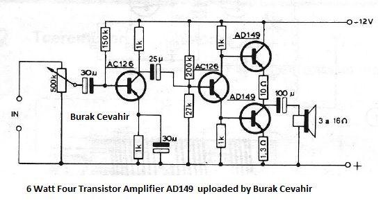 transistor amplifier rfsim99
