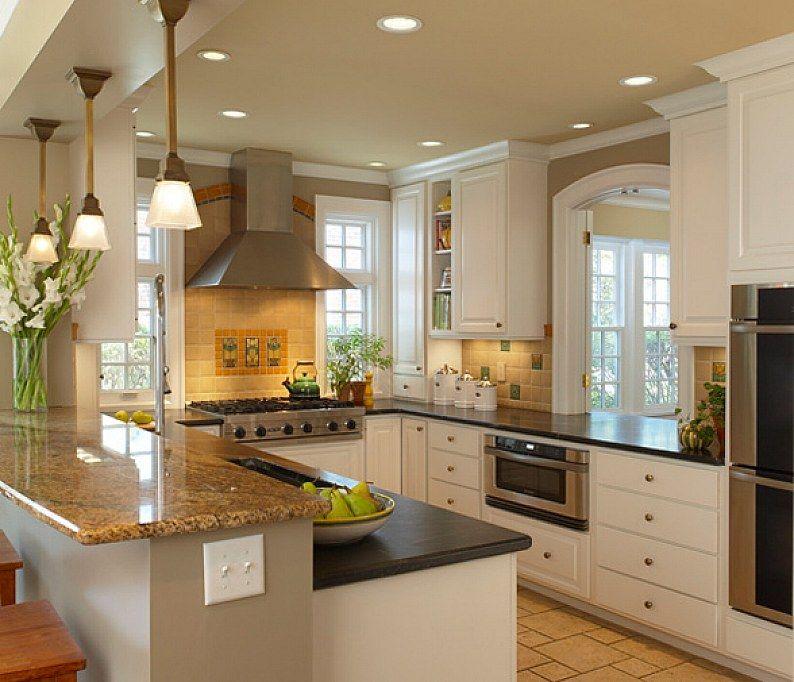 21 Cool Small Kitchen Design Ideas Kitchen design, Design - cabinet ideas for kitchens