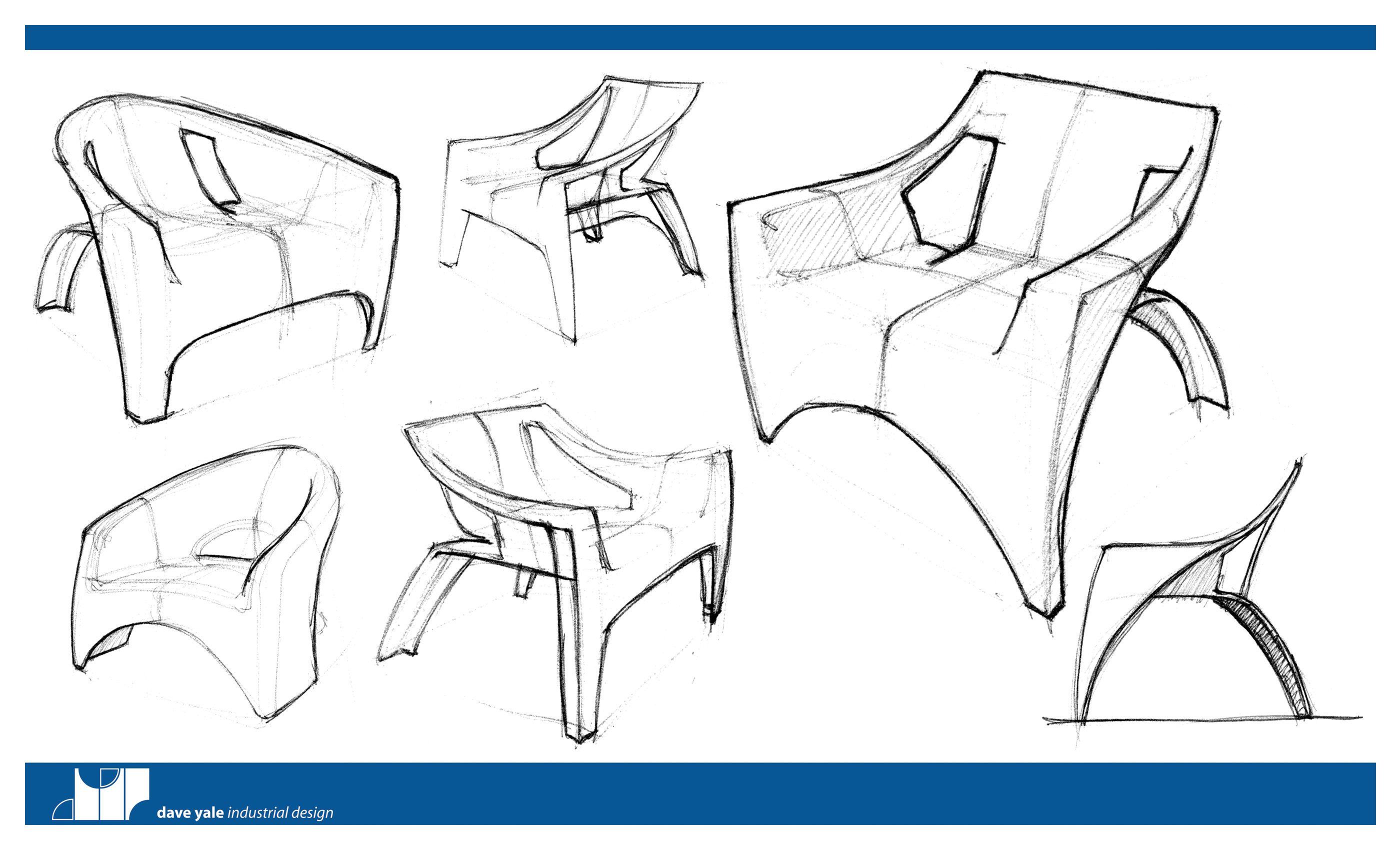 Furniture Design Sketches modern furniture sketches