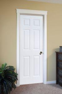 4 Panel White Interior Doors Interior Door In Raised 6 ...