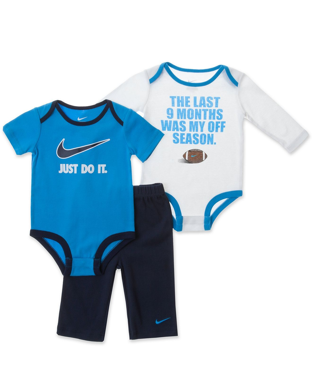 One Piece Bettwäsche Nike Baby Set Baby Boys 3 Piece Bodysuit And Pant Set