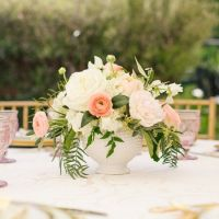A gorgeous outdoor bubbly and brunch bridal shower in ...