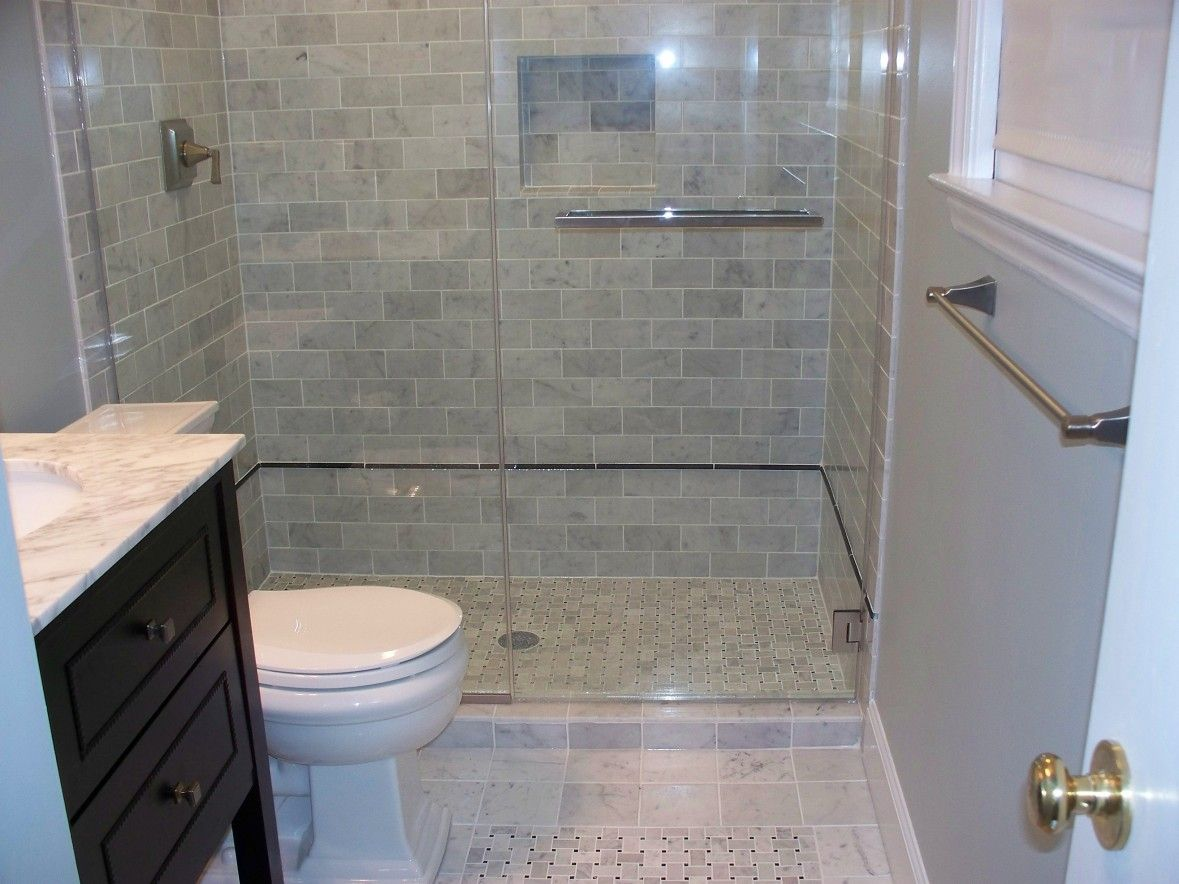 Bathroom small bathroom designs ideas with clear glass doors for modern bathroom showers with white toilet