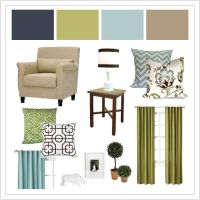 navy green light blue taupe...my living room colours ...