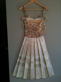 Newspaper Dress Designs | Paper Dress Wall Designs | Felt ...