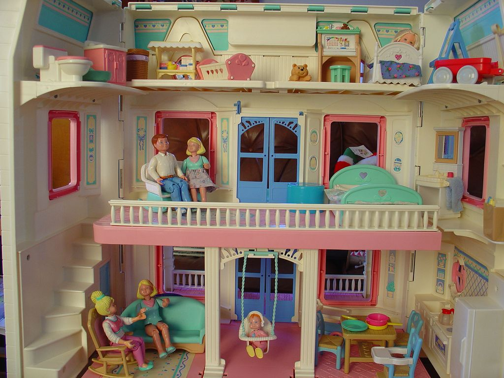 Fisher price dollhouse furniture google search