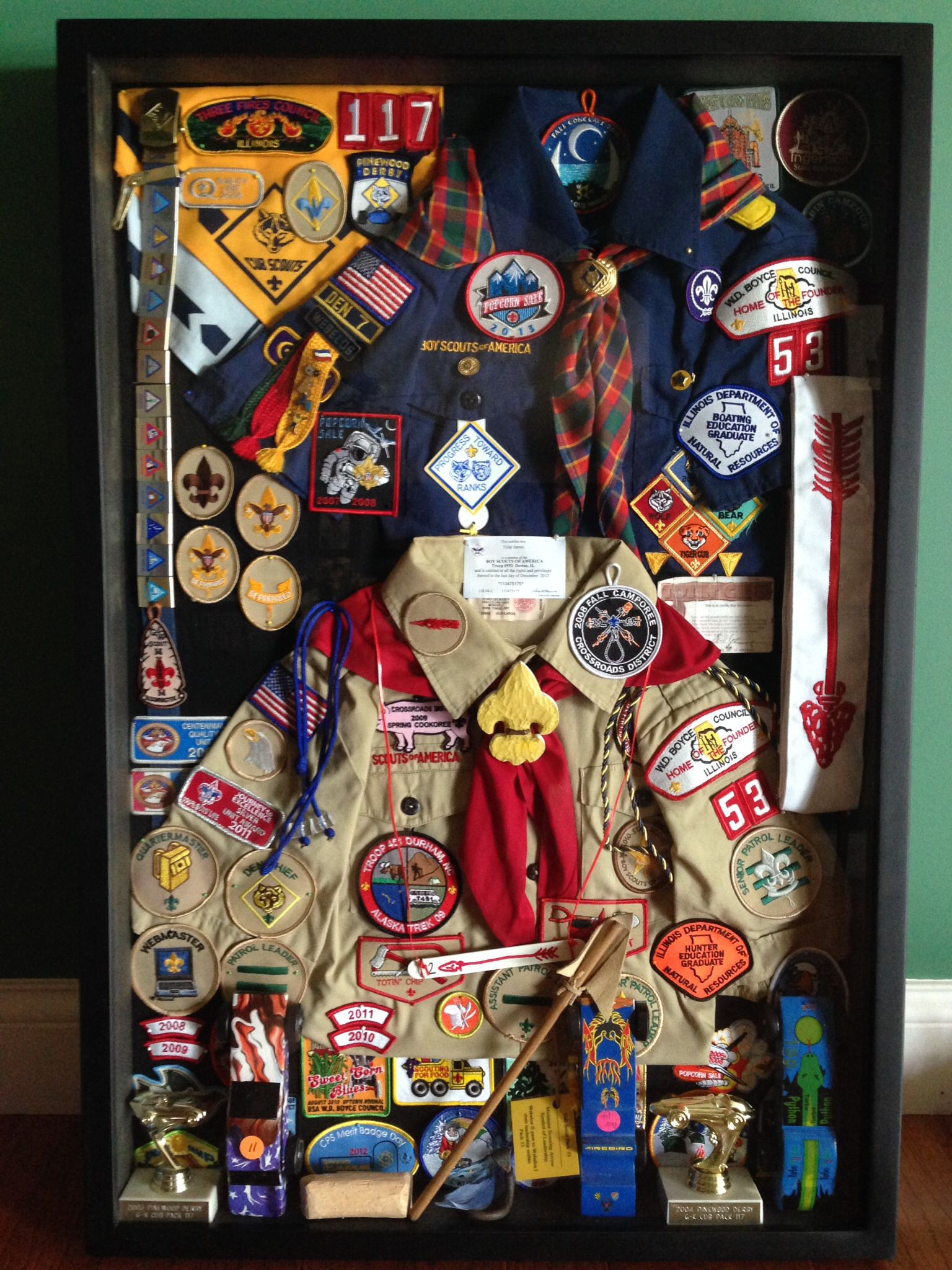 Shadow Box For Eagle Scout Court Of Honor Decor Ideas