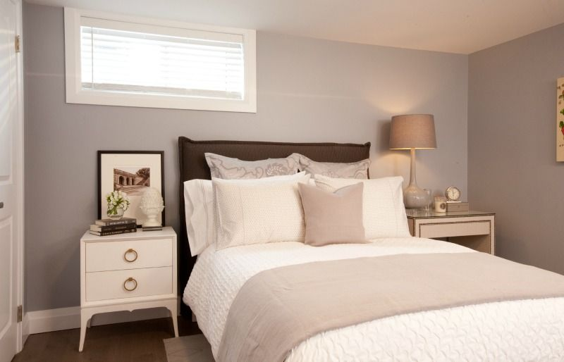 Bright and airy basement bedroom #IncomeProperty #HGTV Bedroom - basement bedroom ideas
