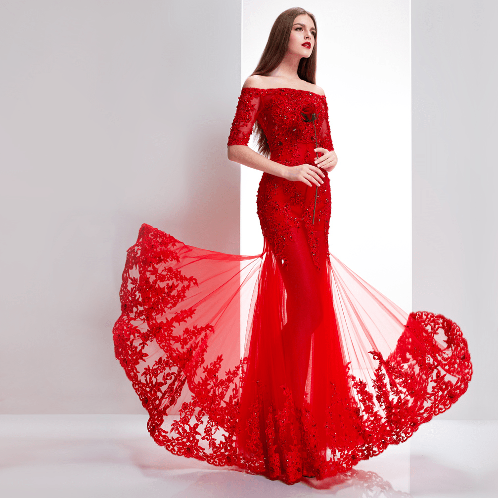 red wedding dresses Chinese Red Wedding Dress Choice 6 png