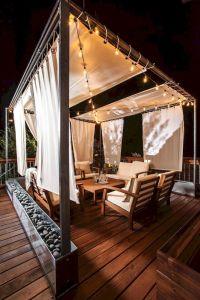 35 Cozy Backyard Patio Deck Designs Ideas for Relaxing ...