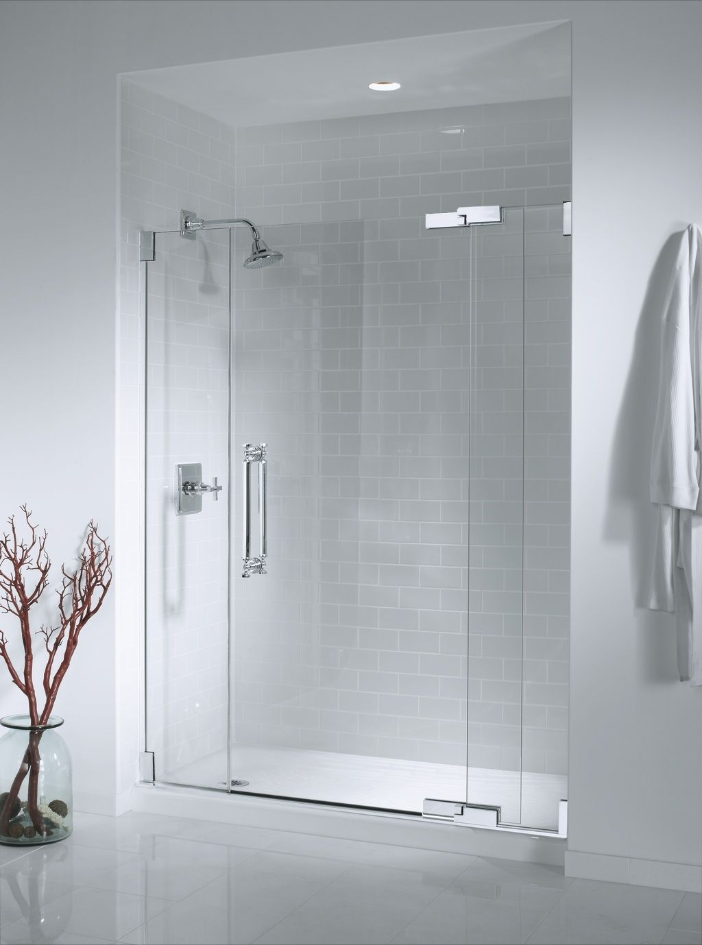 Glass showers our shower doors do more than simply open and close we design frameless