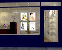 beauty salon window - Google keress | Designs | Pinterest ...