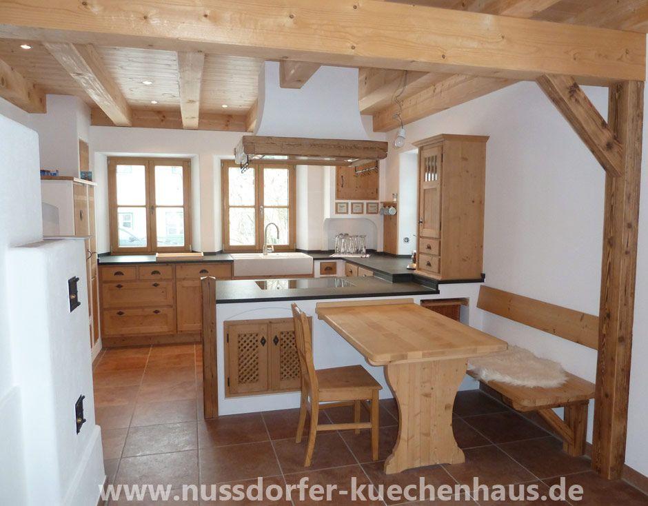 Nussdorfer Küchenhaus Landhausküche Landhausküchen Vom   Moderne Kuche Aus Massivholz  Majestic