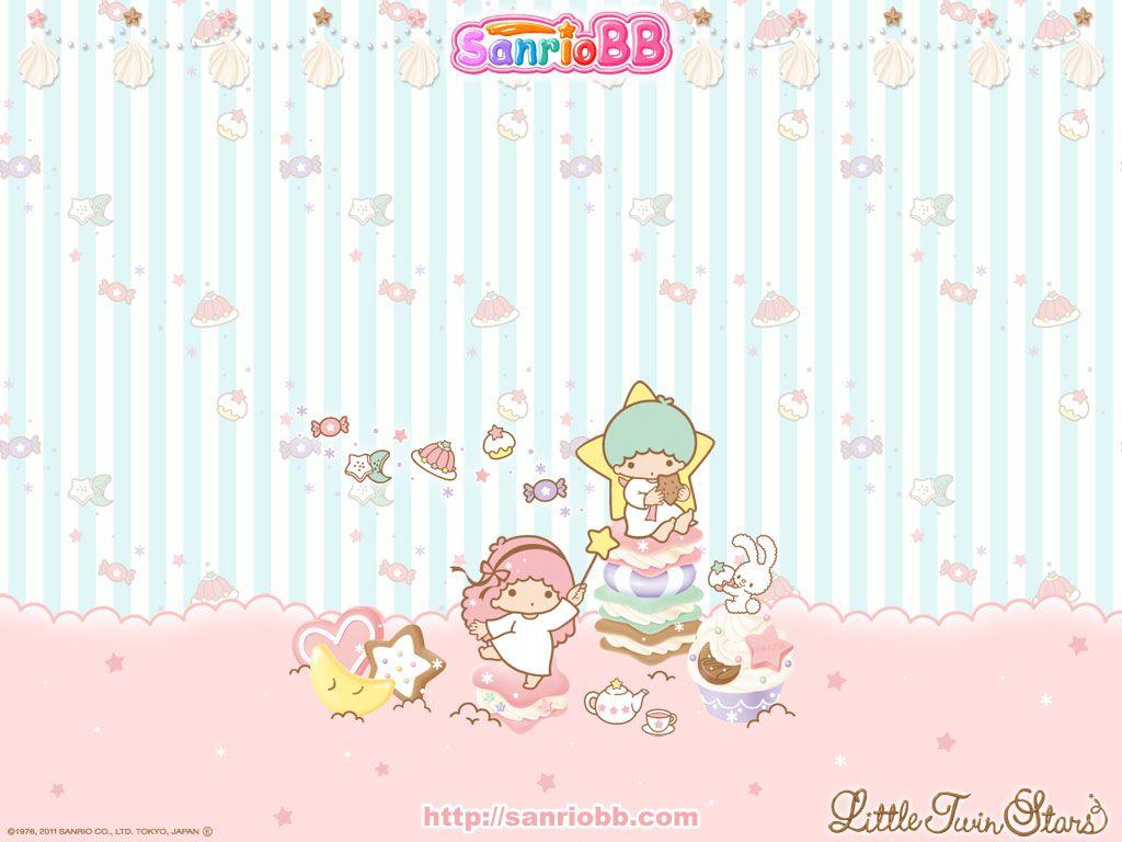 Cute Twins Baby Hd Wallpaper 画像 【リトルツインスターズ】little Twin Stars(キキララ)pcデスクトップ壁紙 画像集