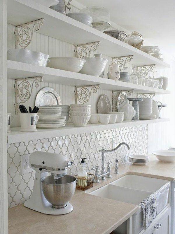 Fliesenspiegel Küche - praktische und moderne Küchenrückwände - moderne kuche praktische kuchengerate