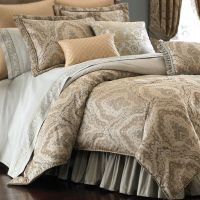 Distinction Damask Comforter Bedding by Croscill ...