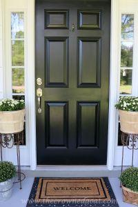 Front Door Paint with Modern Masters | Front doors, Goats ...