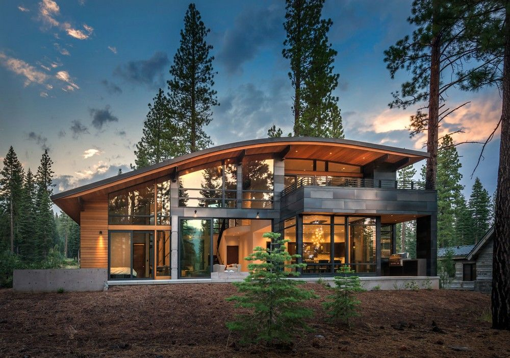 Curved roof homes designs australia