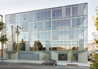 Glass facade reveals timber structure of Portland office ...