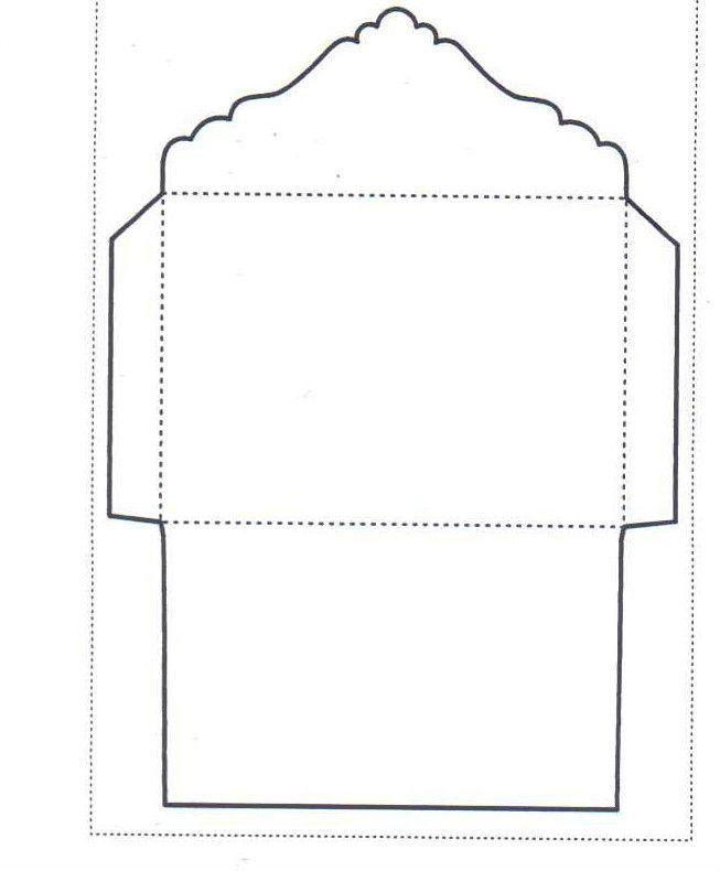 C6 Envelope Template - WS Designs - Tempting Templates Stencil - sample 5x7 envelope template
