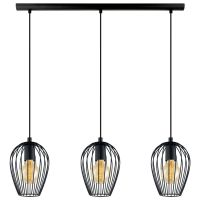 Eglo (49477) Black Newtown Breakfast Bar Light | Lights ...
