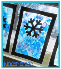 Festive Winter Window Decor and a Freebie | Contact paper ...