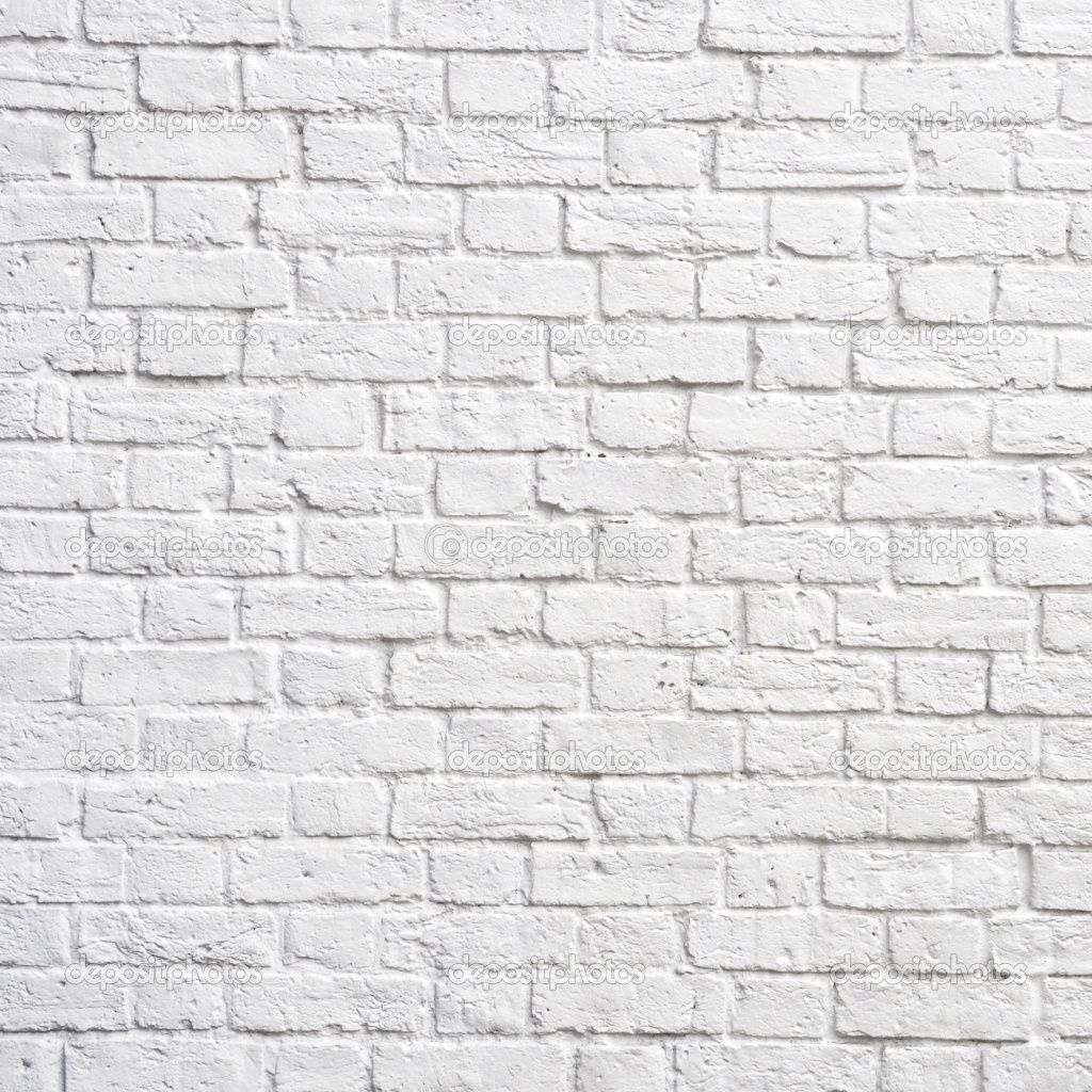 Baksteen Behang Wit White Brick Wall My Main Floor Studio Inspiration