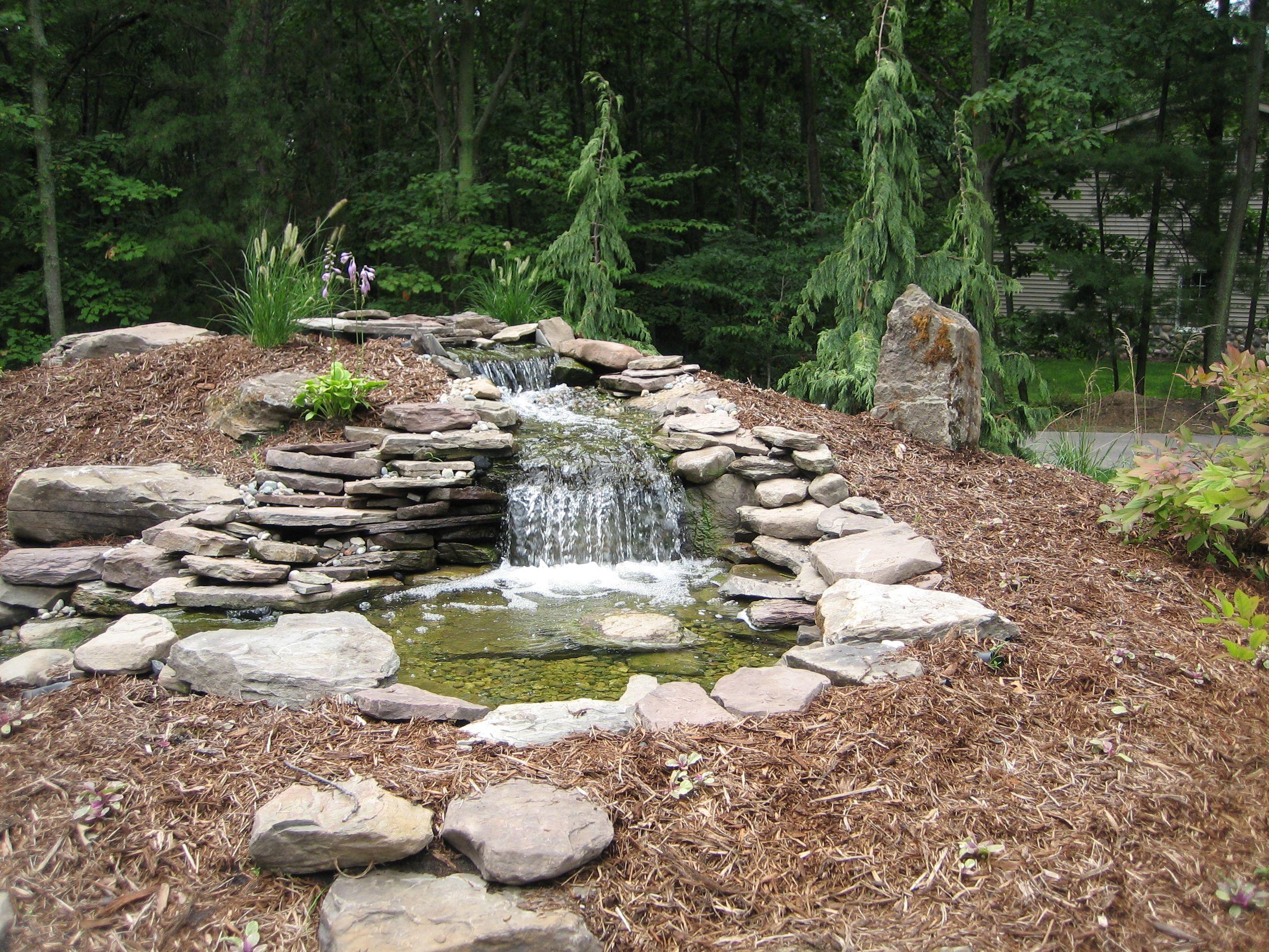 landscape deign water runoff