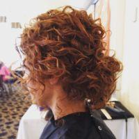 Naturally curly hair low bun updo | hair | Pinterest | Low ...