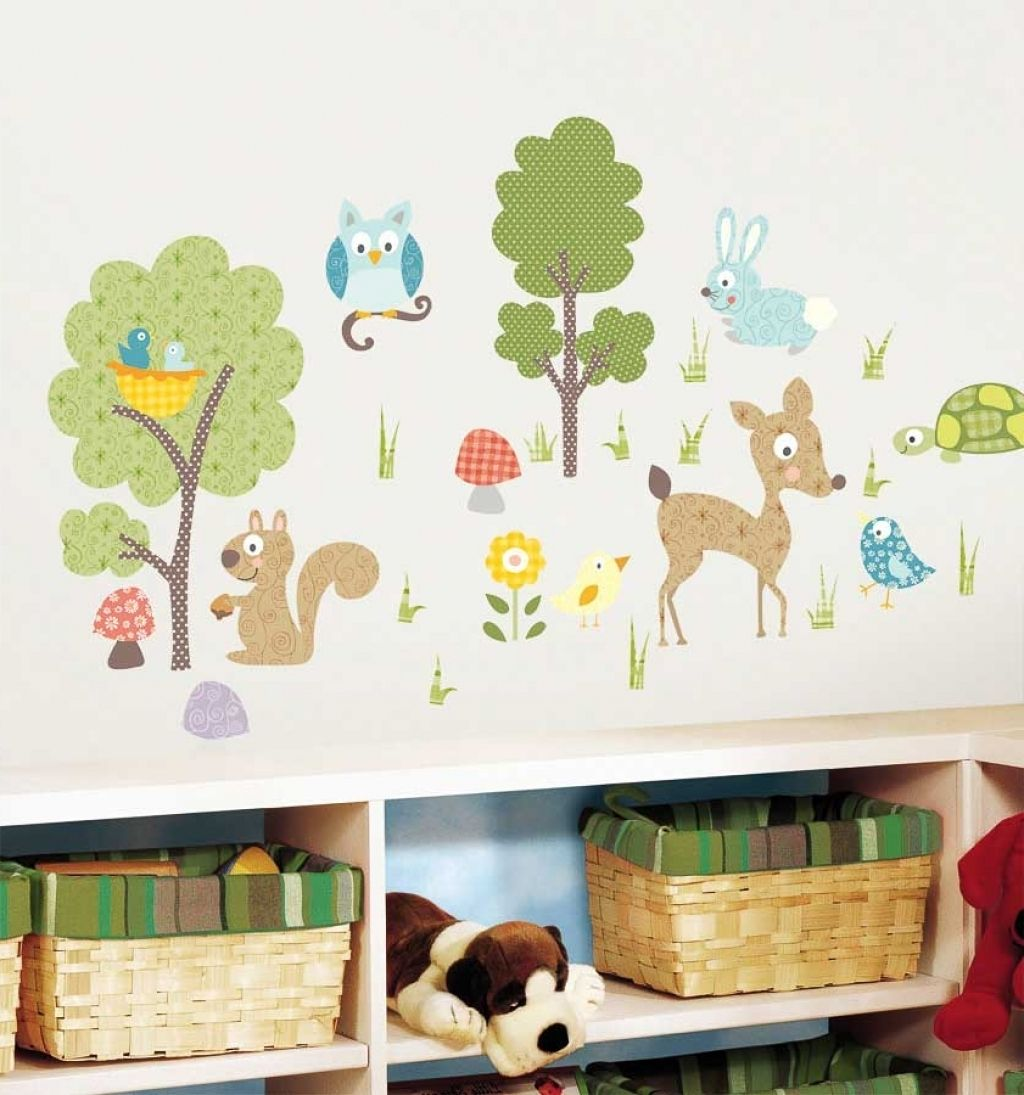 Wandtattoo Baby Tiere Baum Waldwald Tiere Wandtattoo Babies Kids Rooms And Baby