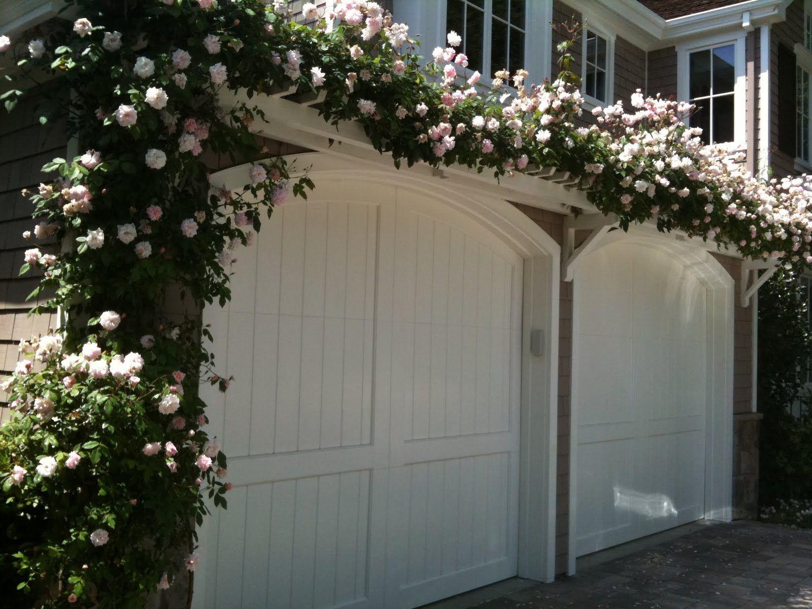 Trellis over garage door - Carport Design Ideas Garage Traditional With Pergola Door Double Car Two Door Arbororiginal