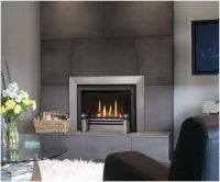 contemporary glass tile fireplace | Contemporary Fireplace ...