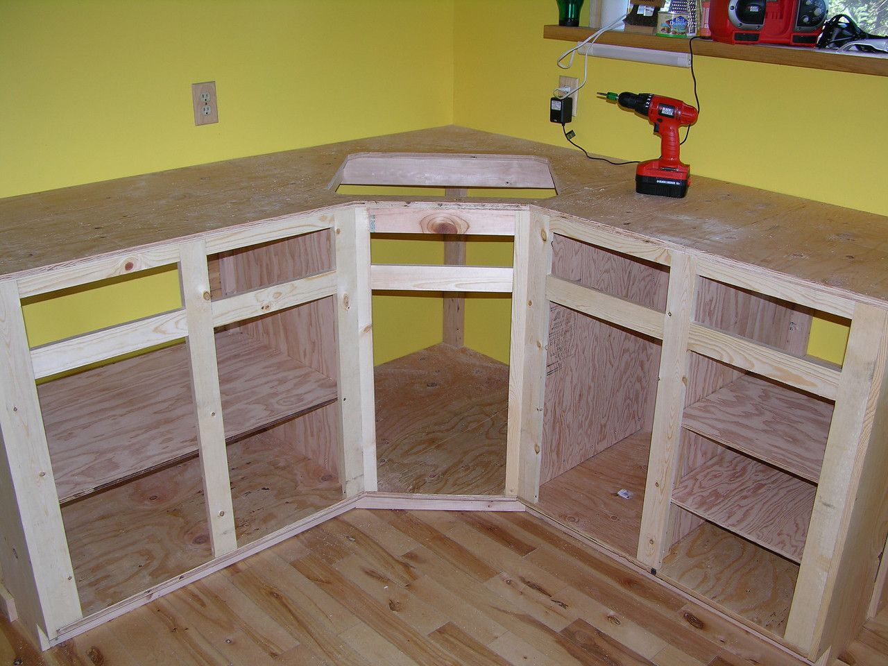 Building A Kitchen Cabinet How To Build Kitchen Cabinet Frame Kitchen Reno