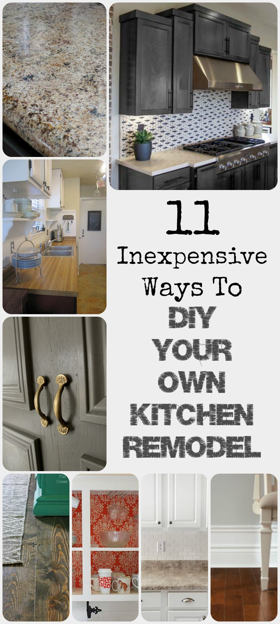 inexpensive kitchen remodel 11 Ways to DIY Kitchen Remodel