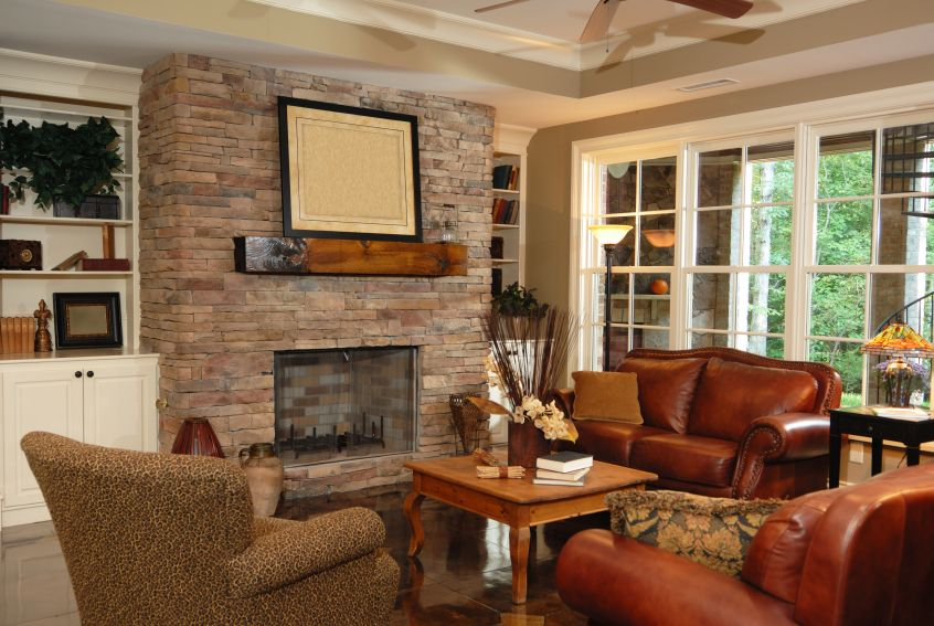 78+ Images About Family Room Ideas Ii On Pinterest | Fireplaces