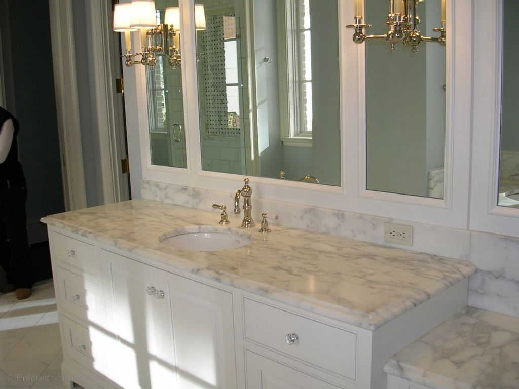 Best Countertops For Bathrooms Best Color For Granite Countertops And White Bathroom