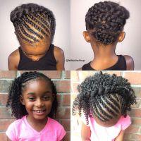 Kids crochet braids style