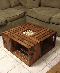 15 Unique Reclaimed Pallet Table Ideas | Diy coffee table ...