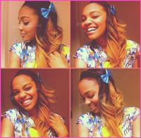 China Anne McClain Dyes Her Hair December 2012 | Disney ...