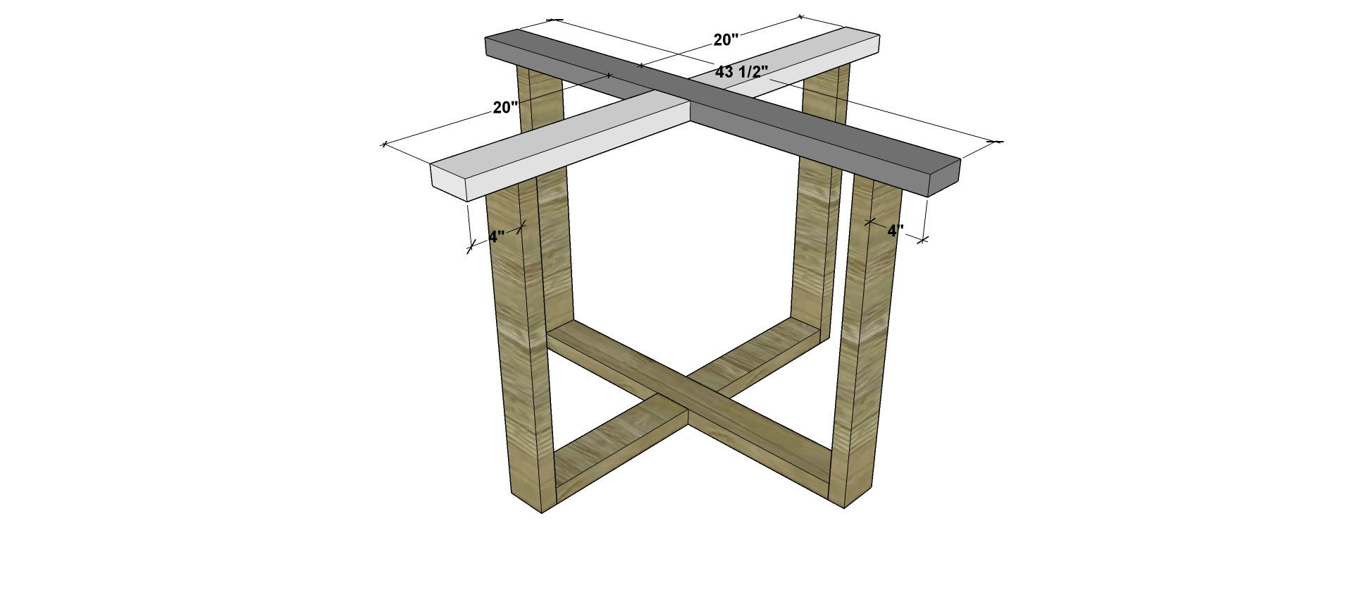 Diy Round Dining Table Plans Attaching The Base For Free Diy Furniture Plans And