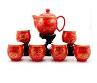 Chinese Wedding Tea Set for Tea Ceremony | TEAPOTS AND TEA ...